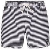 Nicce Striped Swim Shorts