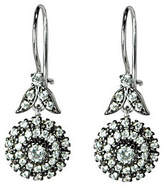 Diamonique 2.80 ct tw Sterling Floral Earrings