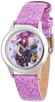 Disney Girl' Diney Decendant 2 Mal Tween tainle teel Watch - Purple