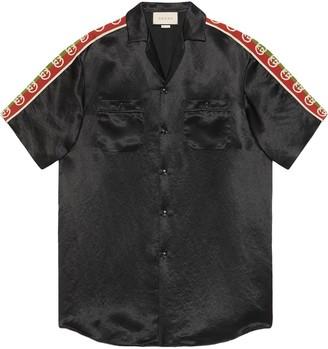 Gucci Side-Panel Bowling Shirt