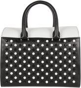Elena Ghisellini White&black vicky Handbag
