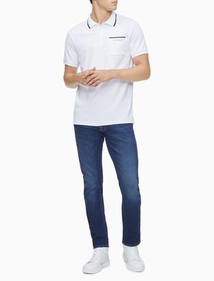 Calvin Klein Move 365 Logo Tipped Polo Shirt