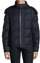 Brioni Quilted Goose Down Lined Jacket
