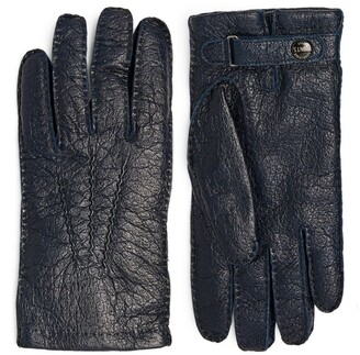 Dents Peccary Leather Gloves