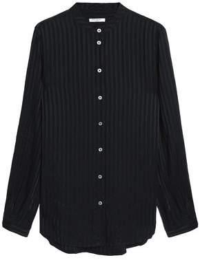 Equipment Embossed Silk-Jacquard Shirt