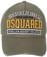 Dsquared2 Fight Embroidered Gabardine Baseball Hat