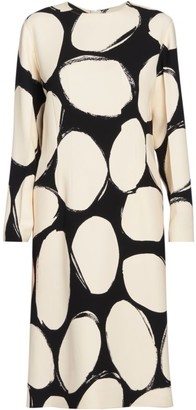 Marni Dotted Midi Dress