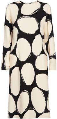 Marni Dotted Midi Dress