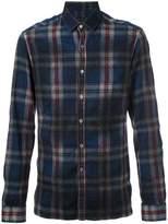 Lanvin checked pattern flannel shirt