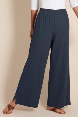 Women Beachy Gauze Pants