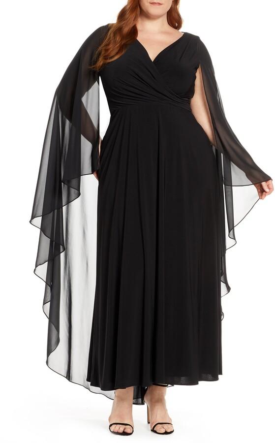 21ad84f111a Xscape Evenings Black Plus Size Dresses - ShopStyle