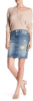 Mavi Jeans Distressed Pencil Skirt