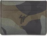 Giuseppe Zanotti Albert printed leather cardholder
