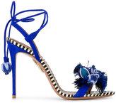 Aquazzura Tropicana sandals - women - Leather/Suede - 38.5