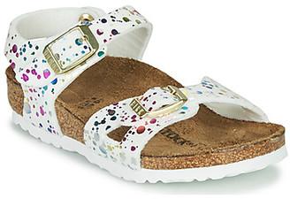 Birkenstock RIO girls's Sandals in White