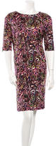 Balenciaga Printed Dress