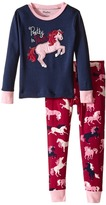 Hatley Pretty in Pink Pajama Set (Toddler/Little Kids/Big Kids)