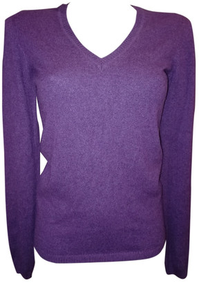 Malo Purple Cashmere Knitwear