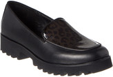 Donald J Pliner Rowin Leather & Patent Loafer