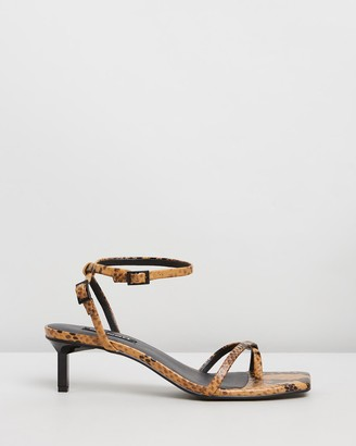 Senso Women's Brown Heeled Sandals - Jamu II - Size One Size, 35 at The Iconic