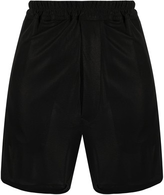 Rick Owens Elasticated Waist Short Shorts