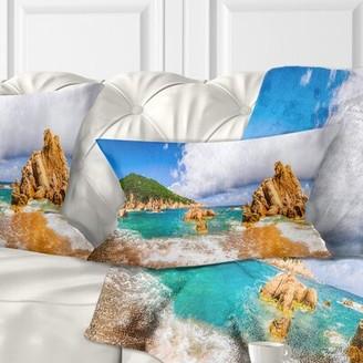 PARADISO Seashore Scenic Costa Lumbar Pillow East Urban Home