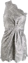 DSQUARED2 lace floral mini dress