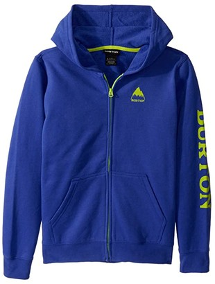Burton Elite Full-Zip Hoodie (Little Kids/Big Kids) (True Black 1) Boy's Clothing