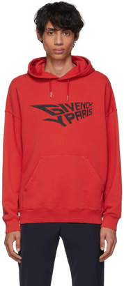 Givenchy Red Mad Trip Tour Hoodie