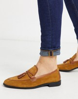 House Of Hounds House of Hounds helix loafers in tan suede