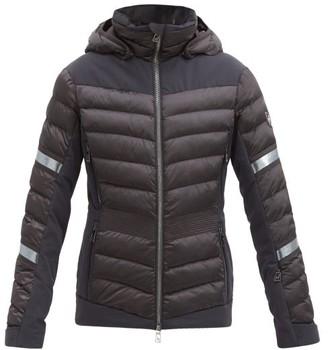 Toni Sailer Madita Spendid Hooded Quilted Ski Jacket - Black