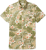 J.Crew Button-down Collar Floral-print Cotton Shirt