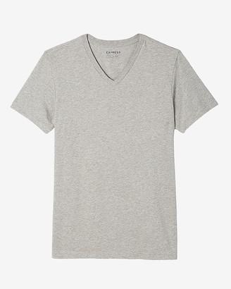 Express Slim Supersoft V-Neck T-Shirt