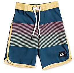 Quiksilver Boys' Everyday Grassroots Color-Blocked Swim Trunks - Big Kid