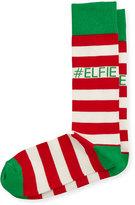 Neiman Marcus Elfie Crew Socks