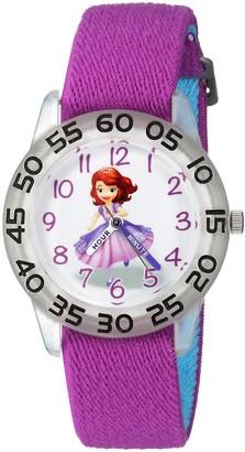 Disney Girls Princess Sofia Analog-Quartz Watch with Nylon Strap