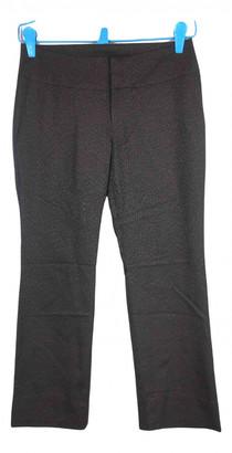 Issey Miyake Brown Wool Trousers