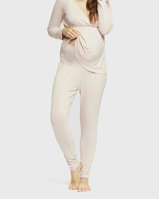 Bamboo Body - Women's Pyjamas - PJ Slouch Pants - Size One Size, L at The Iconic