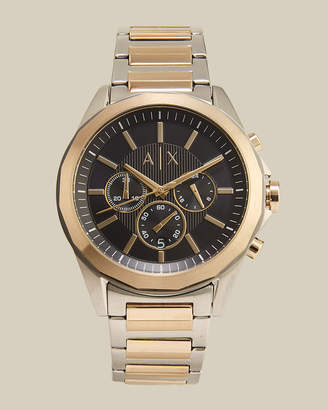 Armani Exchange AX2617 Two-Tone Chronograph Watch