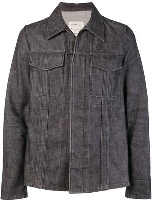 Helmut Lang Pre Owned Raw Denim Slim Jacket