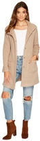 BB Dakota Kingston Ribbed Knit Coat Women's Clothing