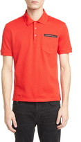 Givenchy Address Short Sleeve Pique Polo