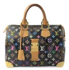 Louis Vuitton Vintage Limited Edition Monogram Multicolore Speedy 30 Bag