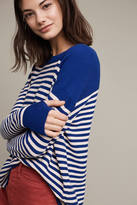 MiH Jeans Striped Wool Pullover