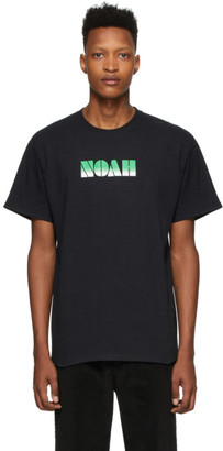 Noah NYC Black Gradient Logo T-Shirt