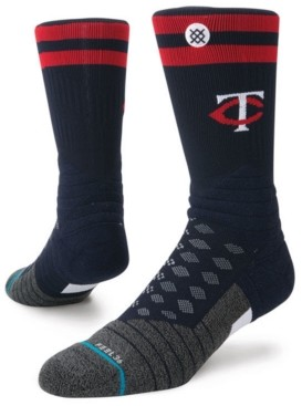 Stance Minnesota Twins Diamond Pro Authentic Crew Socks