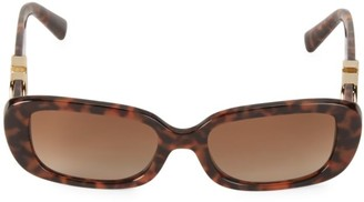 Valentino 53MM Oval Sunglasses