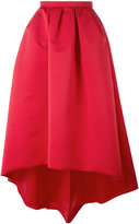 Paule Ka long high-low skirt - women - Polyester/Cupro - 38