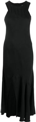 Ann Demeulemeester Flared Sleeveless Midi Dress