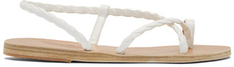 Ancient Greek Sandals White Fysi Sandals